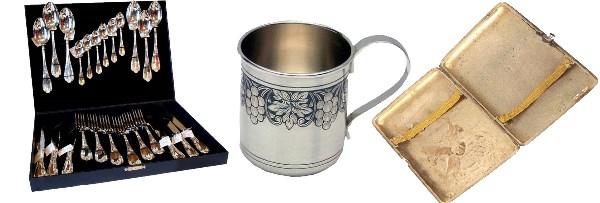 продать столовое серебро
